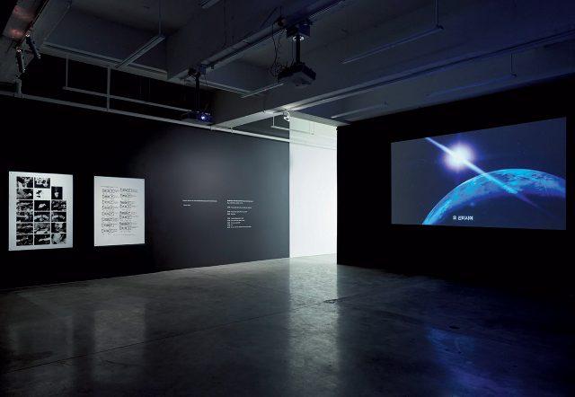 2016년 뉴욕 티나킴 갤러리에서 있었던 개인전 전시 전경