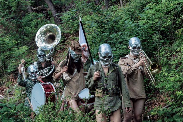 '시민의 숲(Citizen's Forest)', 2016, Video (b&w), directional sound, 27 minutesCourtesy of Art Sonje Center and the Taipei Biennial 2016Image provided by Kukje Gallery