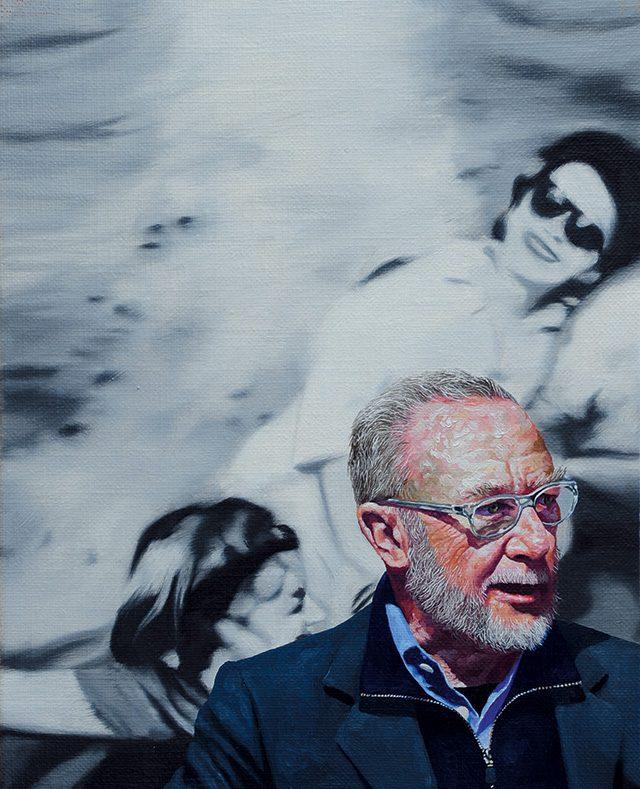 '화가의 성전 2 - G. Richter', 2014, 캔버스에 유채, 27.3×22cm
