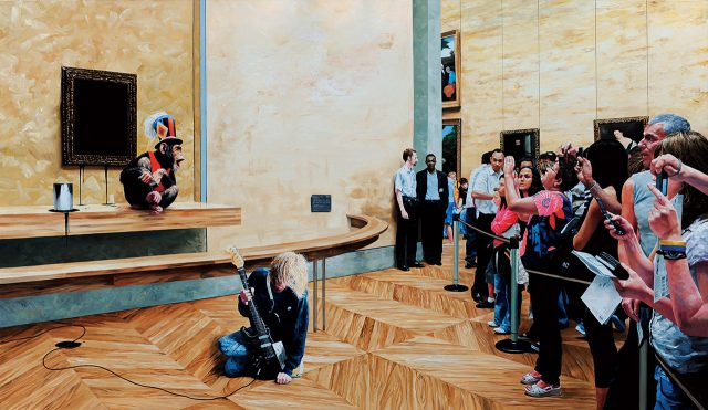 'Circus 3(Paint it Black)', 2010, 캔버스에 유채, 193.9×97cm