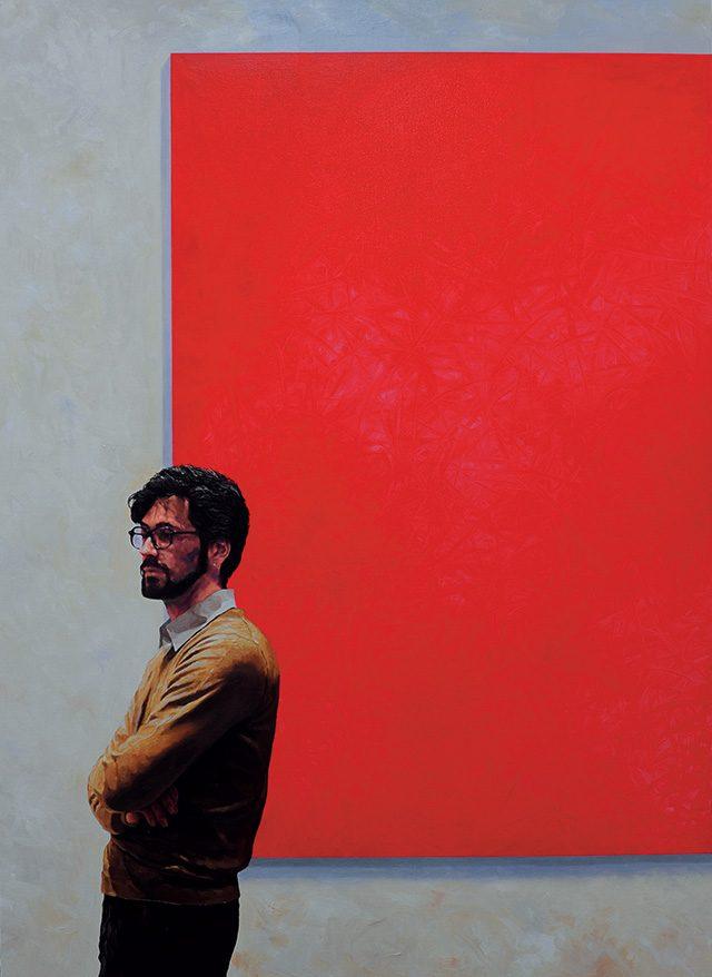 '익숙한 풍경-MOMA PS1의 아침', 2012, 캔버스에 유채, 145.5×97cm