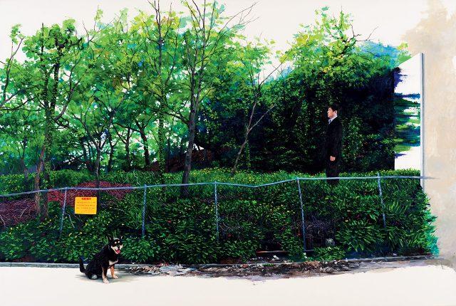 '그 숲의 비밀 2', 2013, 캔버스에 유채, 193.9×130.3cm