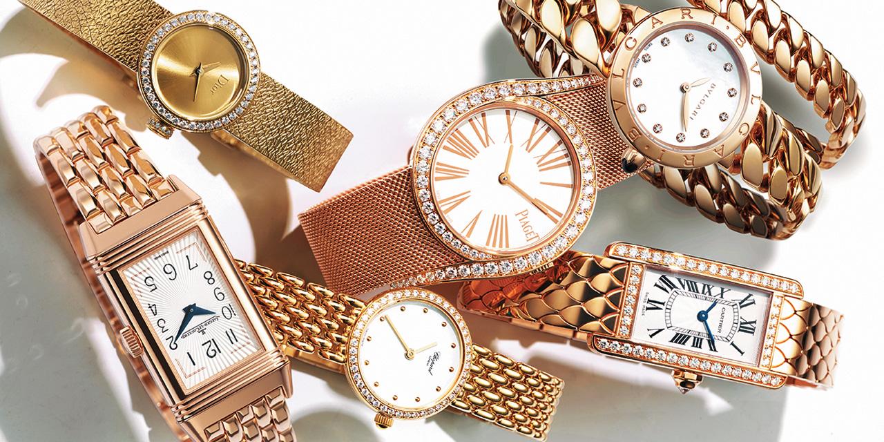눈부신 황금빛과 동시대적 클래식함을 갖춘 매혹적인 시계들.