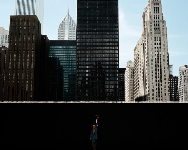 'City Space' 시리즈. Clarissa Bonet, 'In Progress', 2016
