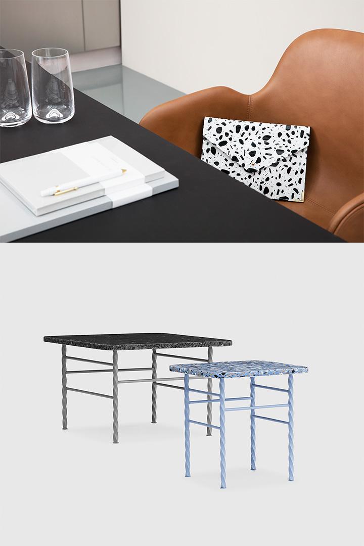 디자이너 시몬 레갈의 테라 테이블. 노만 코펜하겐 by 인터로그(02-6049-4268)