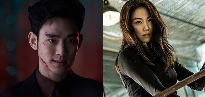 이번 6월 김수현과 김옥빈이 악한 캐릭터로 돌아온다.