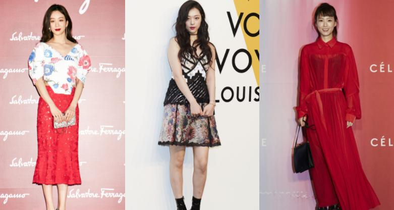 런웨이 속 모델과 일상 속 스타들의 패션 대결!