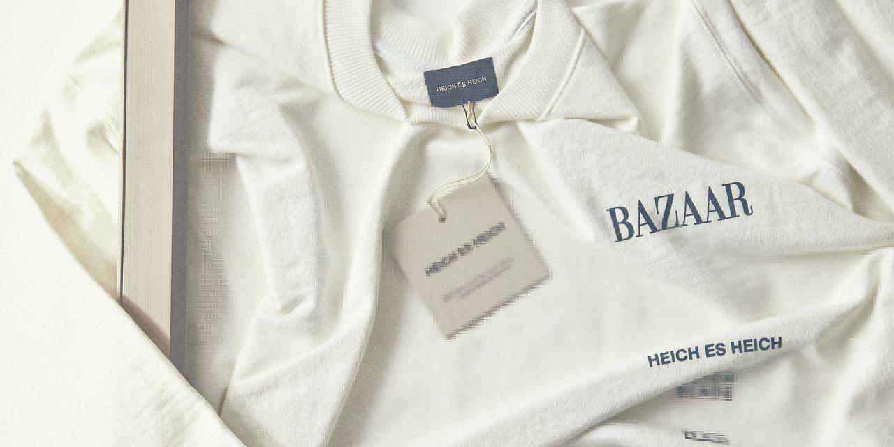<바자> 코리아가 창간 21주년을 맞아 21팀의 디자이너와 함께했다 디자이너 각자의 철학이 담긴 화이트 티셔츠에는 시대를 아우르는 패션과 스타일, 진정한 아름다움에 대한 정의가 스며 있다.