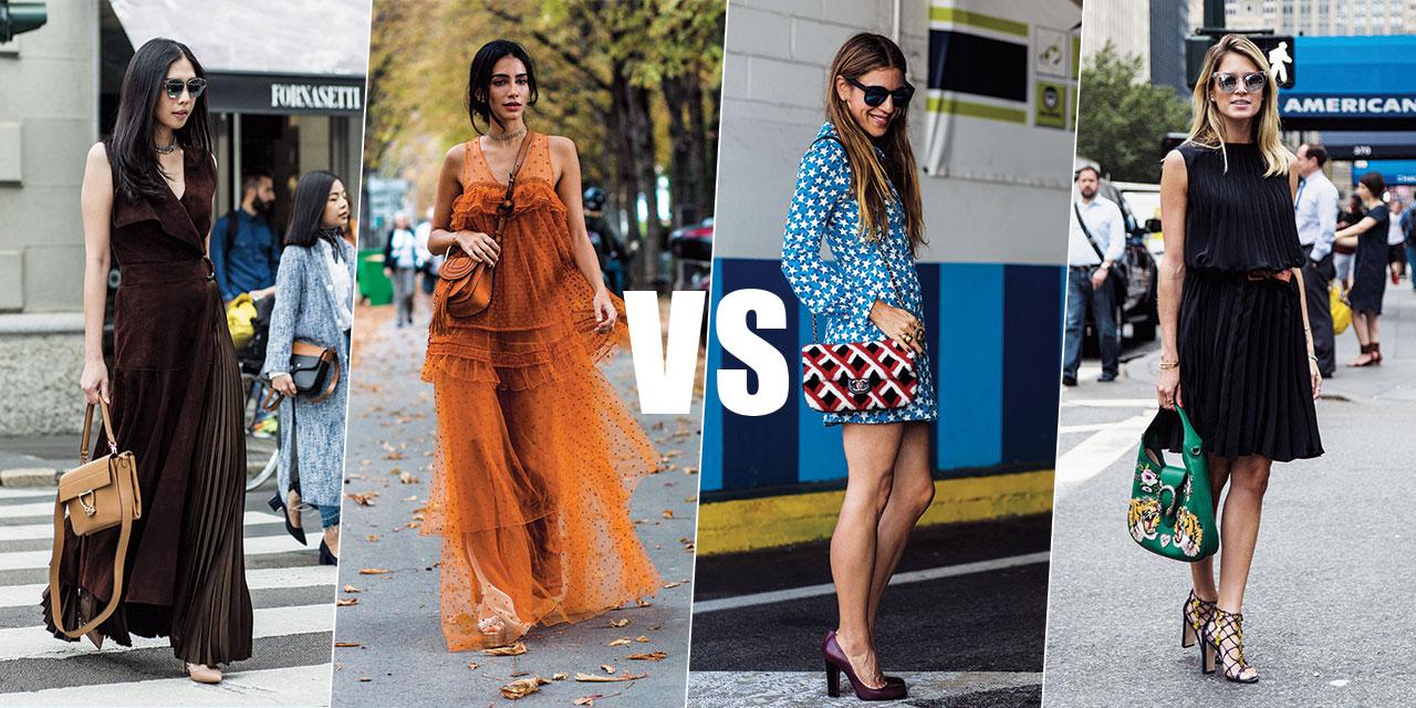 스트리트 신에서 활약한 서머 드레스 중 당신의 선택은?