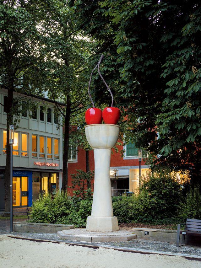토마스 쉬테, 'Cherry Column', 1987