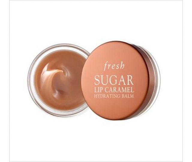 프레쉬(Fresh) 슈거 립 카라멜 하이드레이팅 밤, (Sephora에서 구입 가능), $18