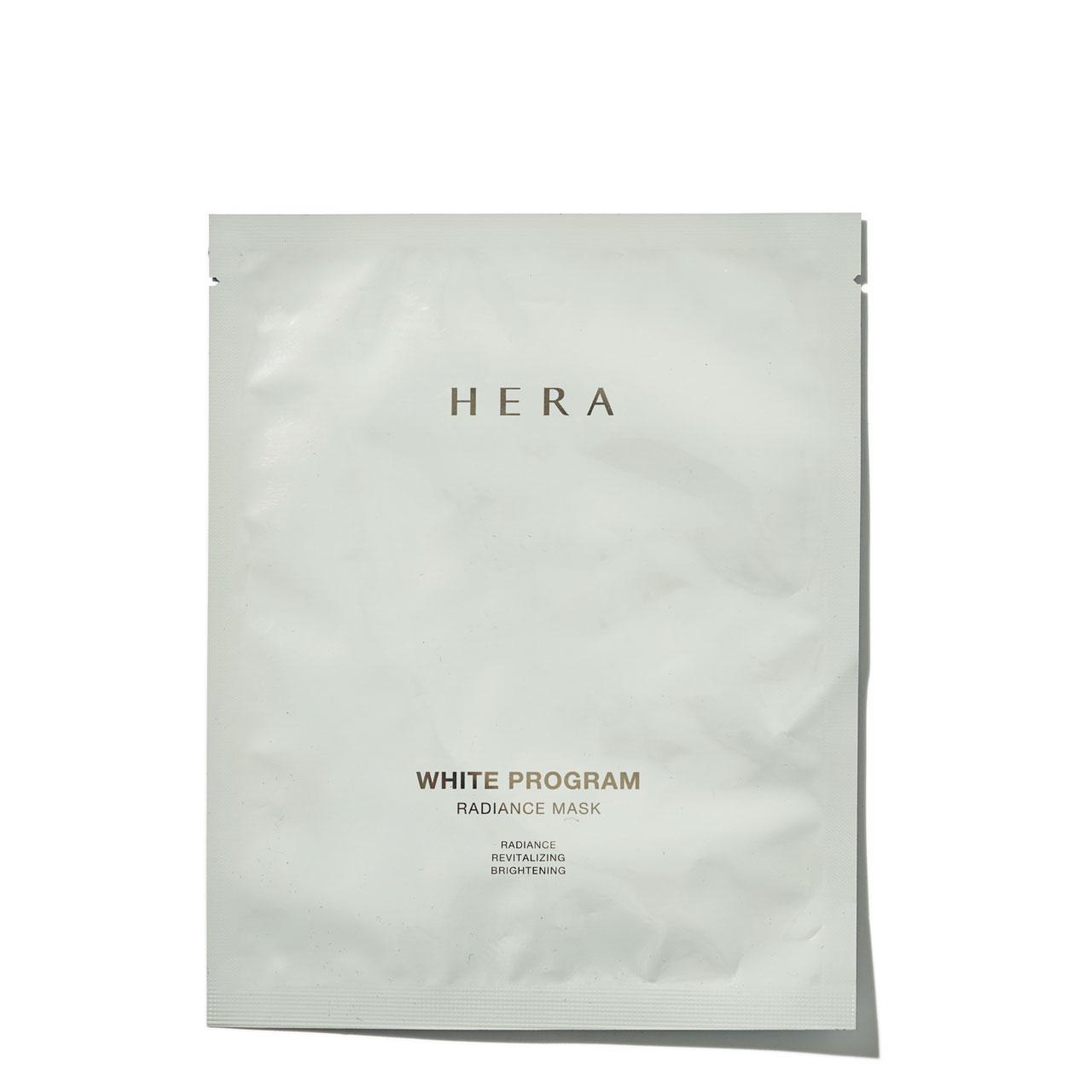 <strong>Hera 화이트 프로그램 래디언스 마스크</strong> 6매, 5만5천원대