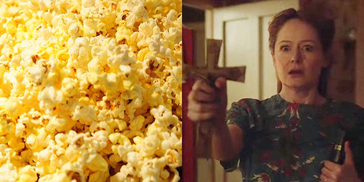미국 코네티컷주 오컬트 뮤지엄에 전시된 인형 애나벨을 모티브로 만든 공포 영화 <애나벨: 인형의 주인>. 관객 수가 증가할수록 '신박한' 후기들도 늘어난다. 영화보다 더 재미있다는, 혼자 보기 아까운 후기들.