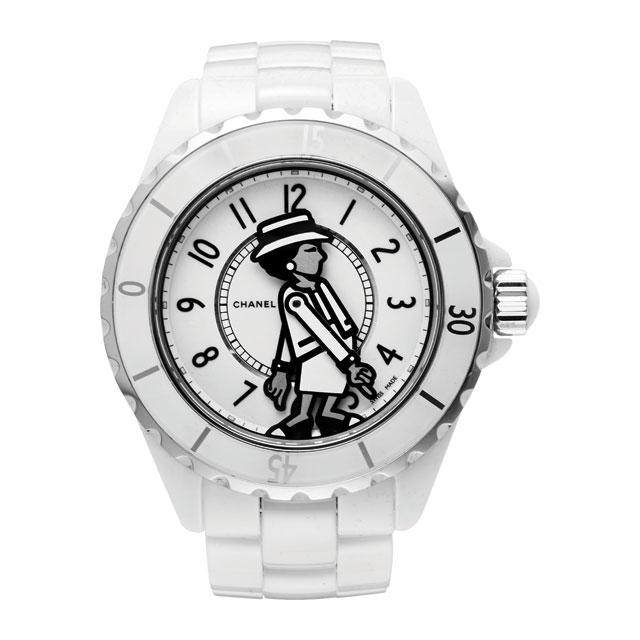 코코 샤넬을 모티프로 한 시계는 Chanel