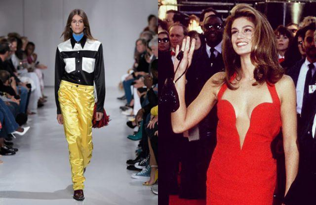 2018 S/S Calvin Klein Collection / @Cindy Crawford
