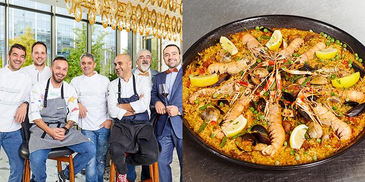 지금껏 당신이 경험한 파에야는 가짜다. 스페인 대표 음식 타파스와 파에야의 진짜 맛을 경험해보고 싶다면 포시즌 호텔로 가자.