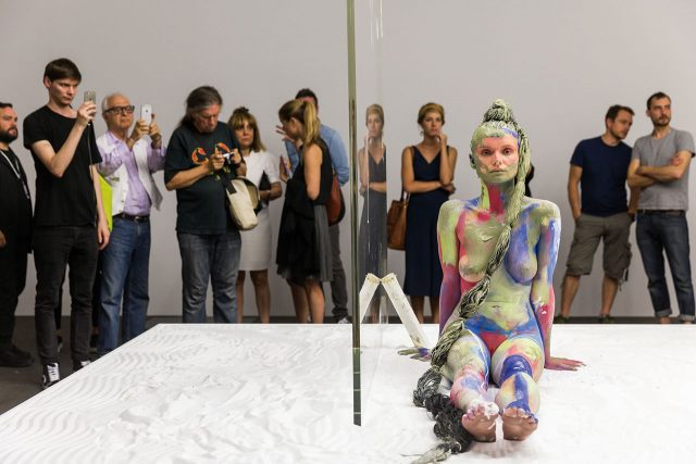 Peres Projects, Donna Huanca, 'Bliss' © Art Basel, Courtesy Art Basel