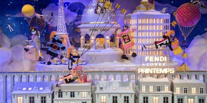 크리스마스 분위기 물씬 풍기는 전세계 백화점 쇼윈도.