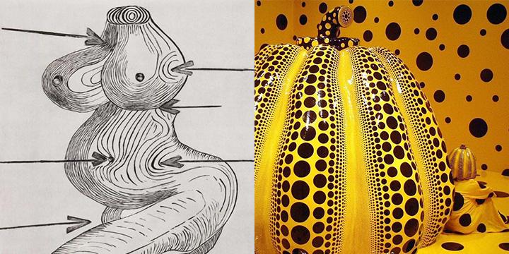 지극히 사적이어서, 여자들의 공감을 이끌어 내는 아티스트 대가들. 루이스 부르주아와 쿠사마 야요이의 전시.