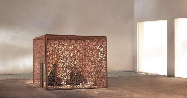 우치다 시게루가 디자인한 다실 '교안', 1993