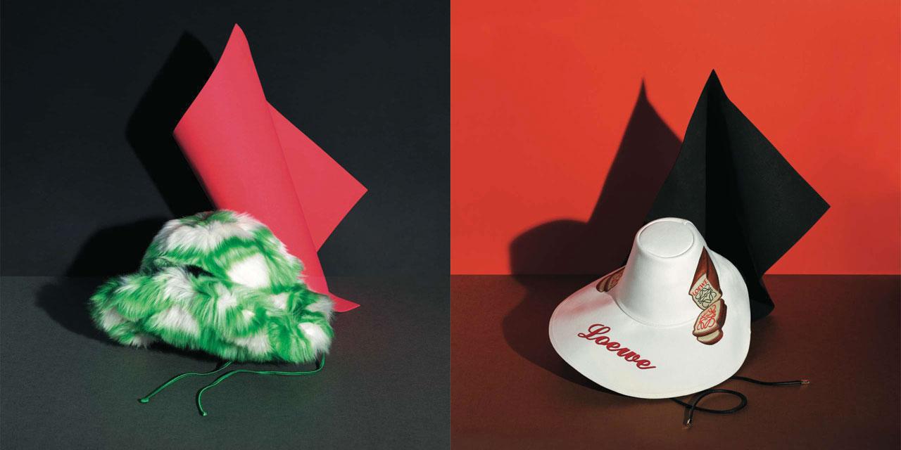 겨울 스타일링에 위트를 더하는 한 점, 독특한 디자인의 모자들.