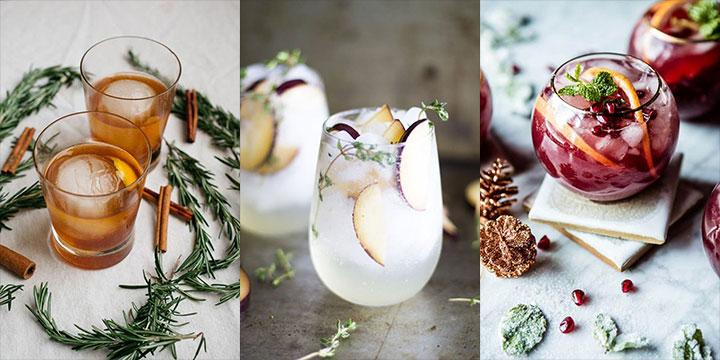 크리스마스 저녁을 장식하는 칵테일 만들기. 뱅쇼만큼 만들기 쉬우면서, 뱅쇼보다 더 섹시하다.