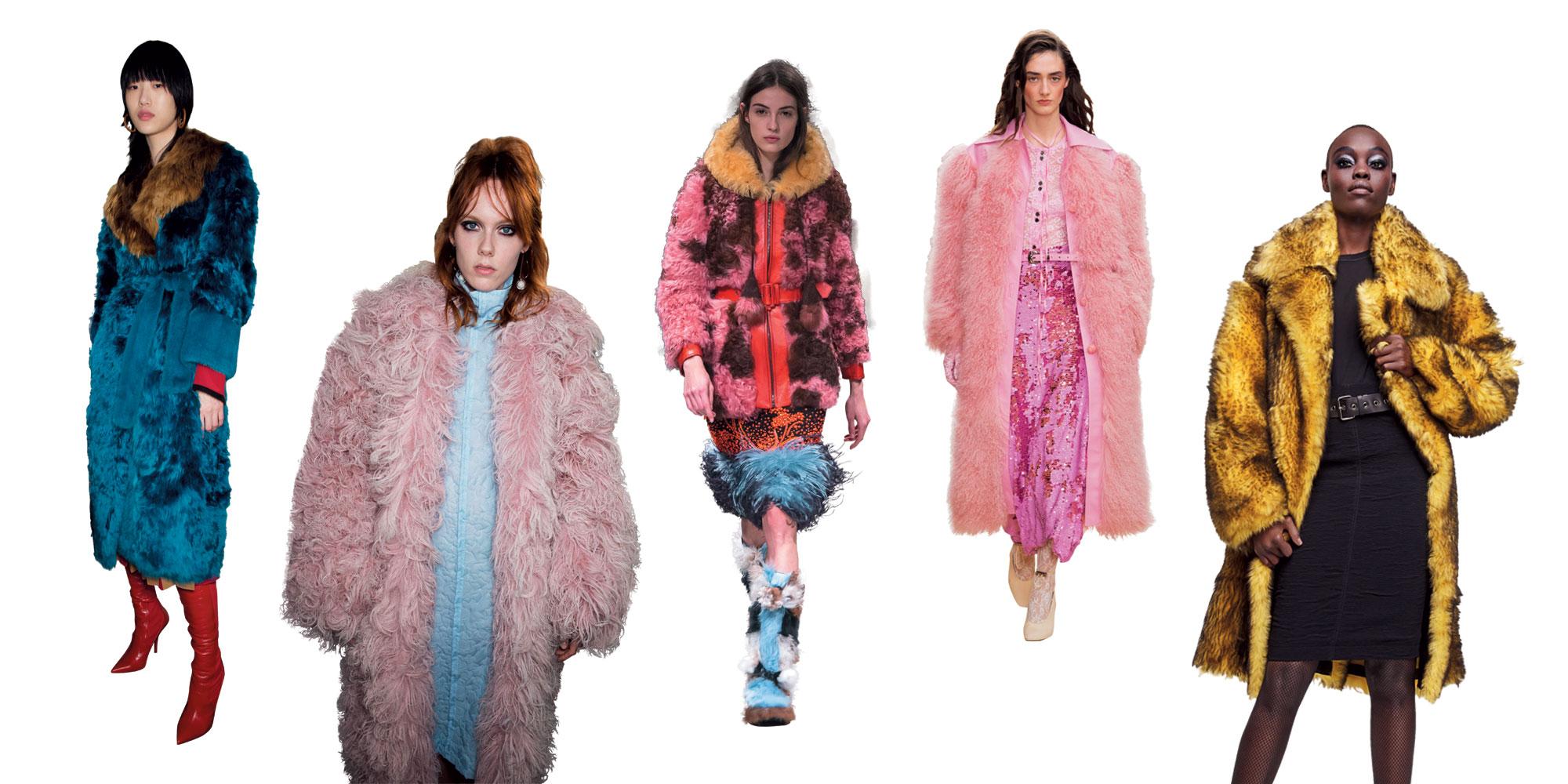 코트나 패딩은 흉내 낼 수 없는 풍성한 텍스처와 섬세한 컬러를 입은 퍼 코트의 부드러운 도발.