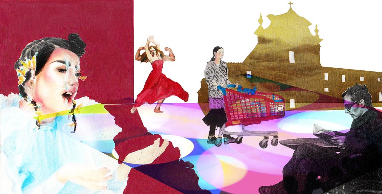 근 미래의 패션쇼는 어떻게 변화할까? '팩트'와 '픽션' 사이에서 써내려간 네 편의 시나리오.