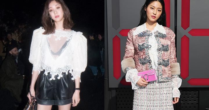 패션 위크를 사로 잡은 셀럽들의 같은 옷 다른 느낌.