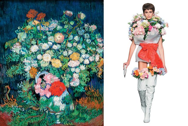 'Bouquet of Flowers in a Vase'(1890) /  Moschino