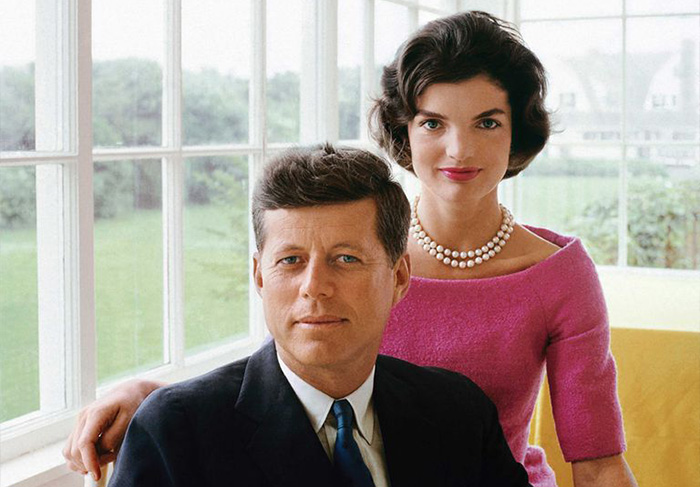 A portrait of Jackie and JFK, White House, 1959 © Mark Shaw / mptvimages.com