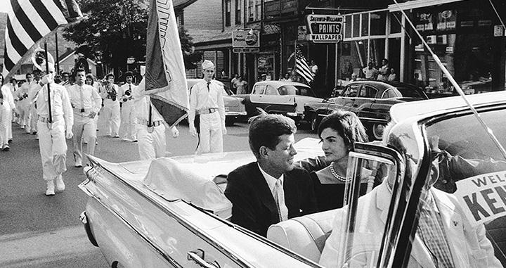 존 F. 케네디 일가의 공개되지 않았던 사진을 만날 수 있는 특별한 전시다.
