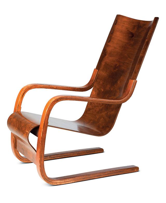 Armchair, Alvar Aalto, 1932 ⓒ Vitra Design Museum, photo: Jurgen Hans, VG Bild-Kunst, Bonn, 2014