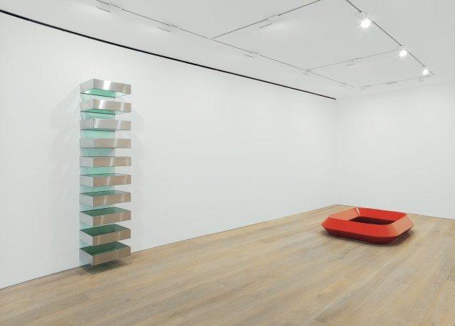 런던 갤러리에서 열린 'Donald Judd' 설치 전경, 2013.