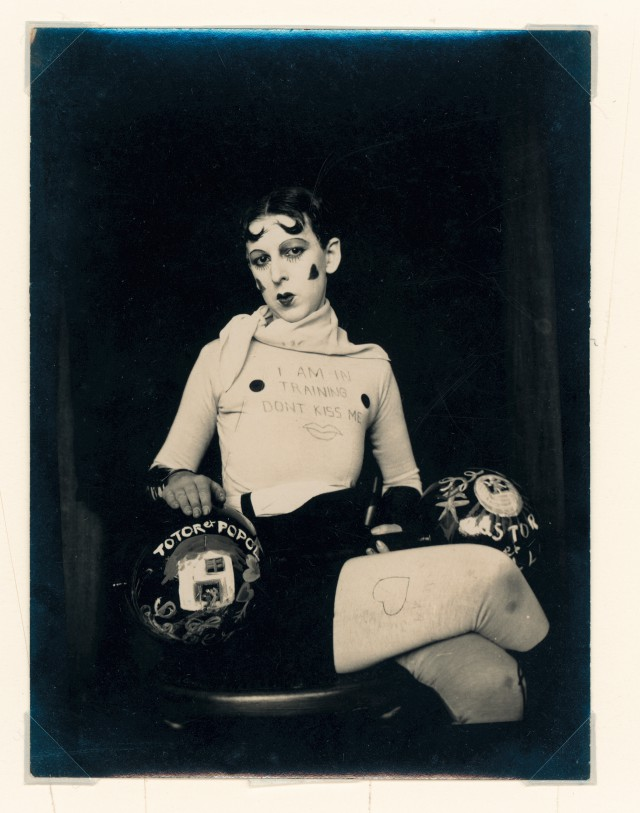 Claude Cahun, 'I am in Training, Don't Kiss Me', 1927, Courtesy of the Jersey Heritage Collections