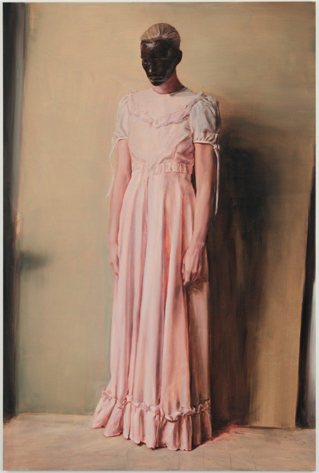 'The Angel', 2013 © Michaël Borremans Courtesy David Zwirner, New York/London/Hong Kong and Zeno×Gallery, Antwerp