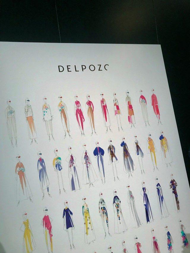 @Delpozo뉴욕을 떠나 런던 패션 위크에서의 시작을 알린 델포조의 사랑스러운 쇼 스케치.