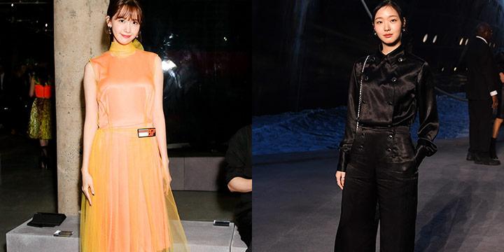 2019 크루즈 컬렉션이 시작됐다. 세계적인 스타들과 어깨를 나란히한 국내 셀럽의 같은 옷 다른 느낌