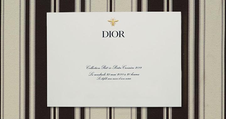 한국 시간 26일 새벽 3시, 마리아 그라치아 치우리의 2019 디올 크루즈 컬렉션이 생중계 됩니다.