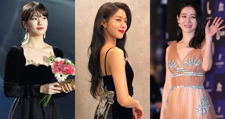 제 54회 <백상예술대상> 에 등장한 스타들의 같은 옷 다른 느낌!