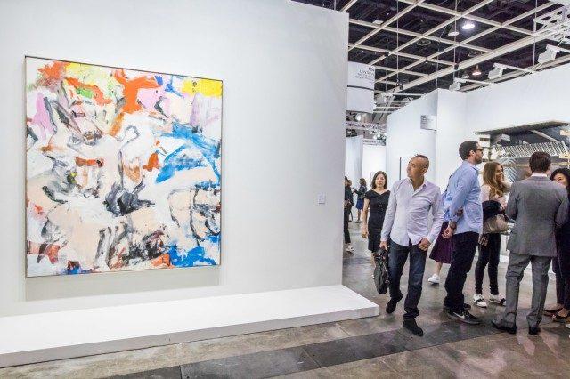 레비 고비 갤러리에서 판매한빌럼 데 쿠닝의 'Untitled XII'.