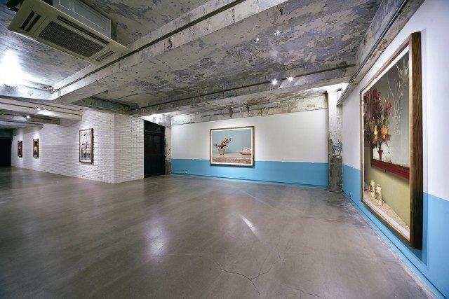 지앙 지, 'Going and Coming' 전시 전경, Blindspot Gallery,2018 courtesy of artist and Blindspot Gallery