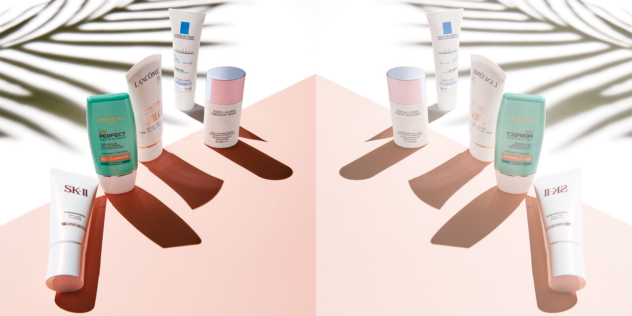 봄철, 강렬하게 내리쬐는 햇볕으로부터 피부를 보호해줄  자외선차단제 리스트.