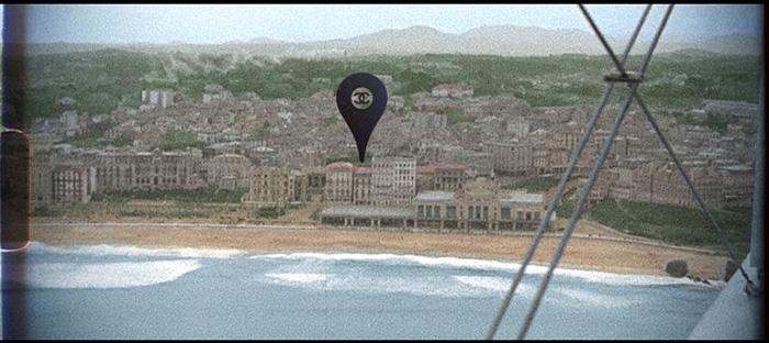 프랑스 노르망디의 칼바도스 해안에 위치한 '도빌'