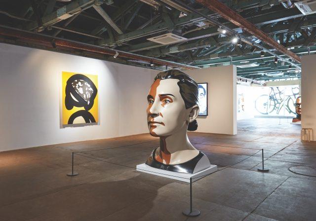 인간의 얼굴이라는 매우 독특한 존재에 관해 고찰한 바를 다양하게 표현한 작품들을 모아놓았다.
