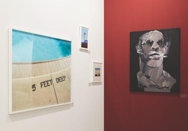 권철화, 김재훈, 조엔 코넬라의 작품을 출품한 스튜디오 콘크리트.