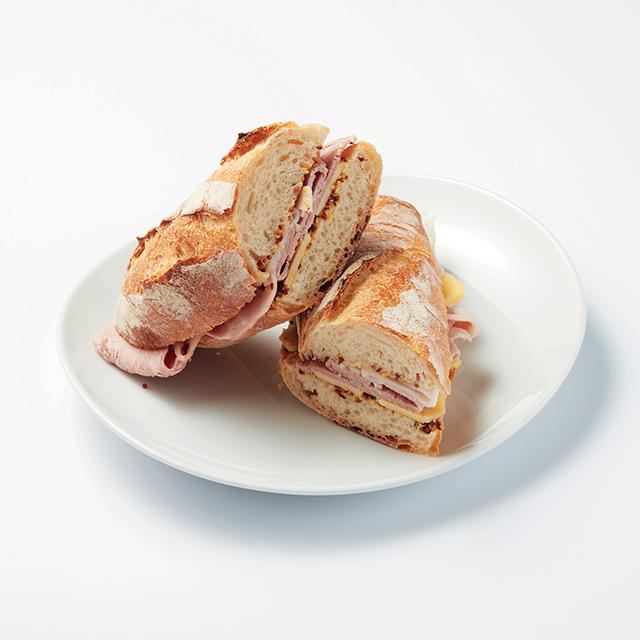 사워도  바게트 잠봉-프로마주  샌드위치