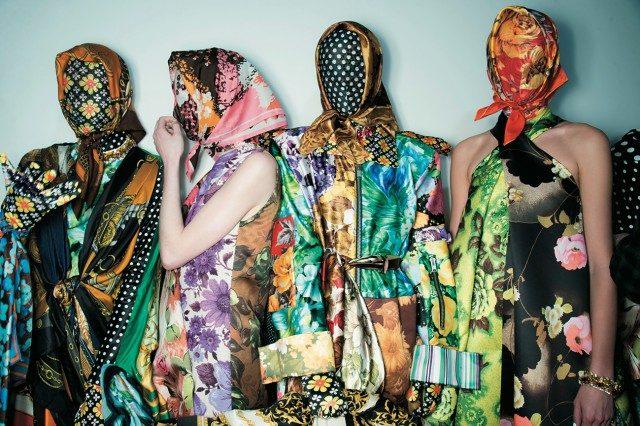 각양각색의 화려한 패턴을 명민하게 조합한 신예 디자이너 리차드 퀸.