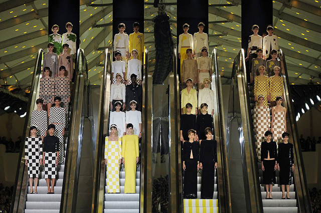 Louis Vuitton, spring/summer 2013, Paris