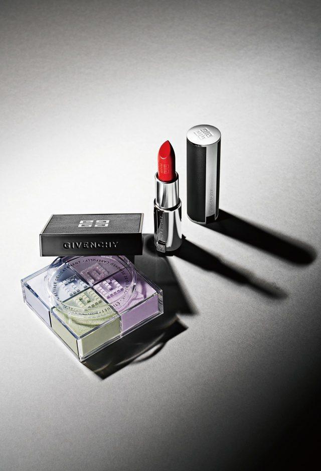 Givenchy 프리즘 리브르와르 루즈, 306 모두 가격 미정.
